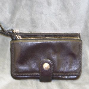 Fossil Leather Wallet/Coin Purse